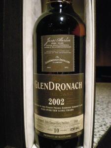 グレンドロナック 2002