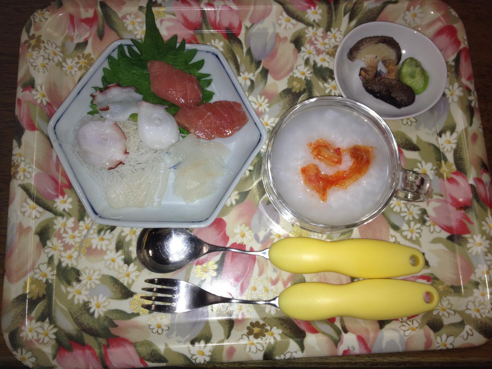 火曜日のよいよいの母の晩御飯