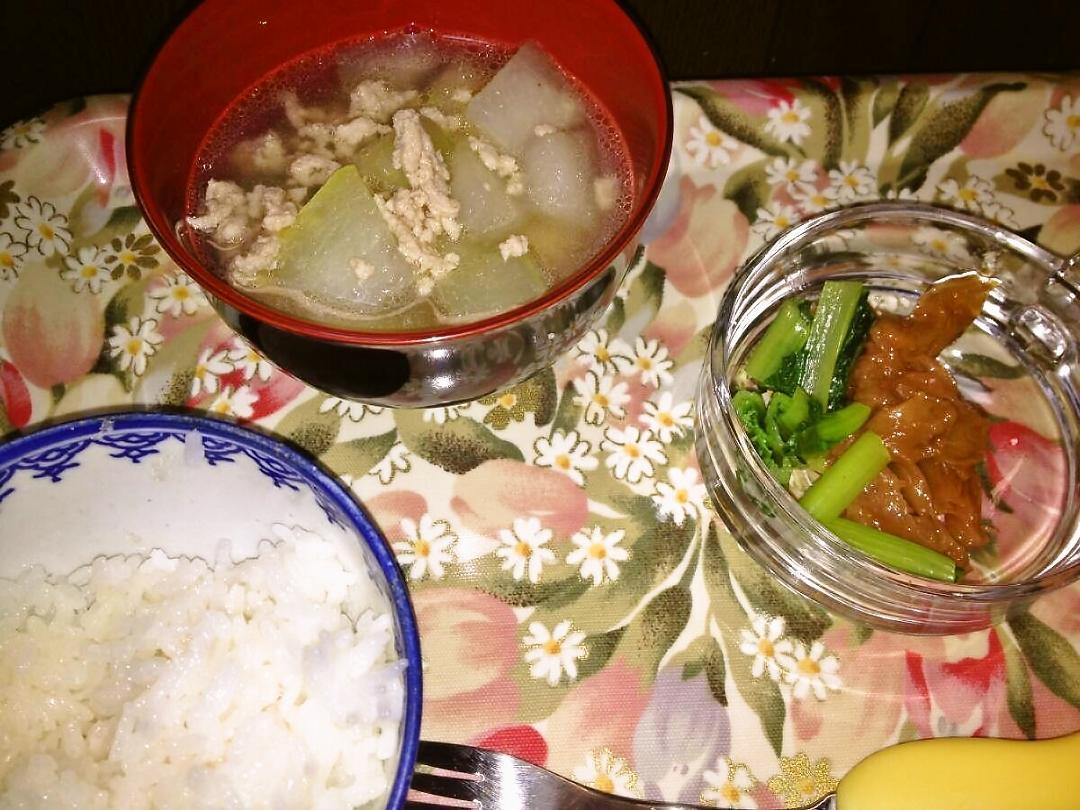 5月29日の母の晩飯