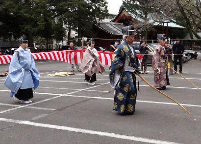 浅間神社奉射祭大的式-2