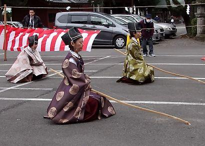 浅間神社奉射祭大的式-4
