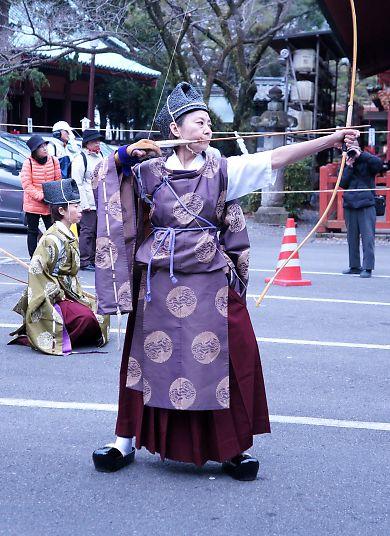 浅間神社奉射祭大的式-5