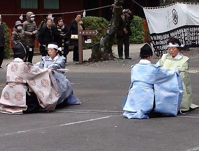 浅間神社奉射祭大的式-6
