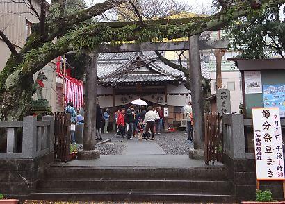 稲荷神社の節分祭-1