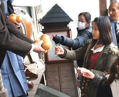 稲荷神社の節分祭-5