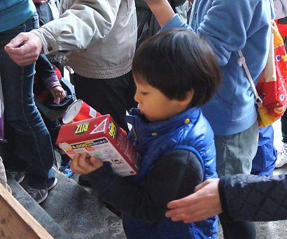 稲荷神社の節分祭-7
