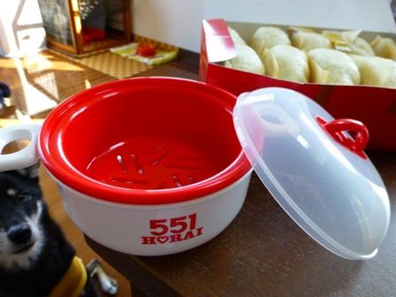 551蓬莱豚まんレンジセイロセット12