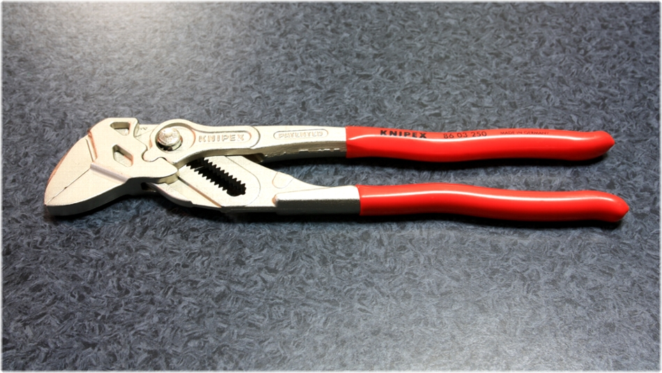 KNIPEX 86-03-250 Pliers Wrench/250mm [2013 04/20]