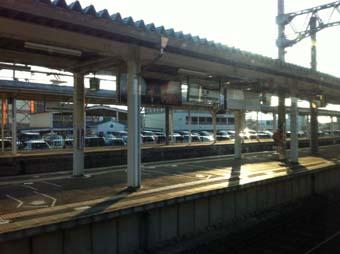 秋田4 これでも新幹線の駅だぜ大曲駅