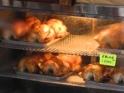 旧軽井沢の鶏肉屋さん