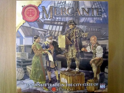 商人たちの勢力争い『メルカンテ』