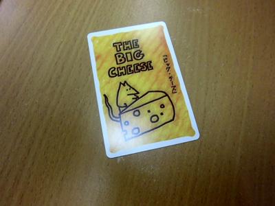 特殊カード「ビッグ・チーズ」!