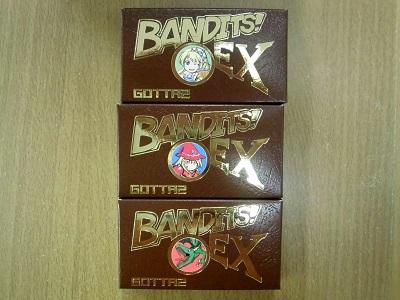 BANDITS! EX、3点