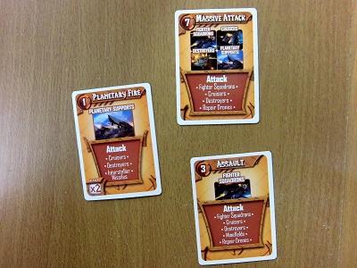 タイタニウム・ウォーズ 戦術カード