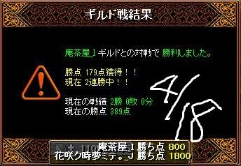 4月18日対庵茶屋Gv結果