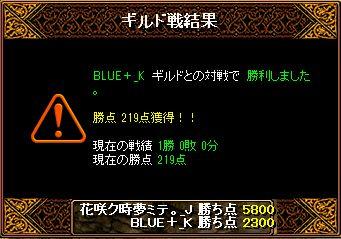 6月19日BLUE+