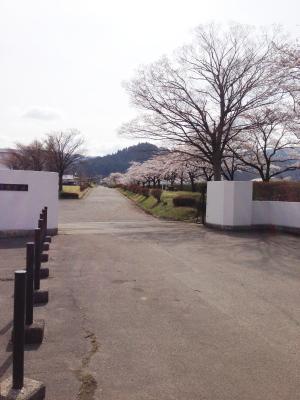 会津短大(ホームベーカリーコビヤマの真向かい)