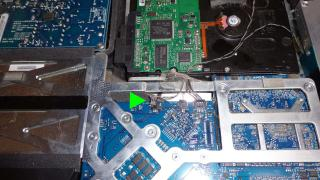 MAC014HDセンサー取り外し