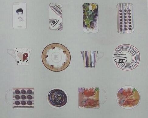 ユノとデザイナーが描いたデザイン画