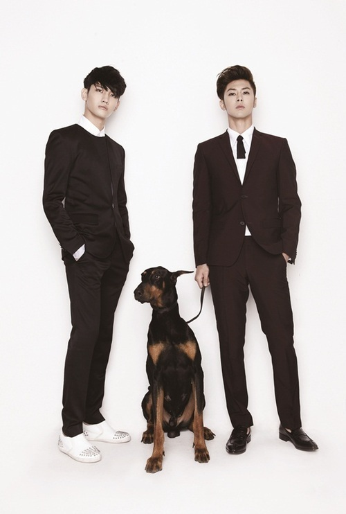 A lovely group, TVXQ no.2-犬