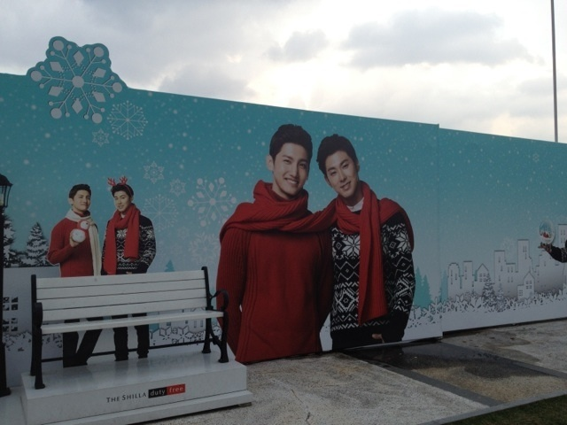 A lovely group, TVXQ no.2-新羅屋上