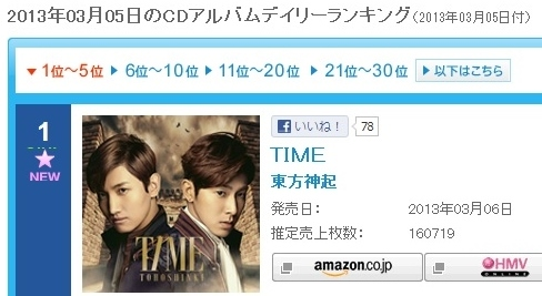 A lovely group, TVXQ no.2-TIMEフラゲ