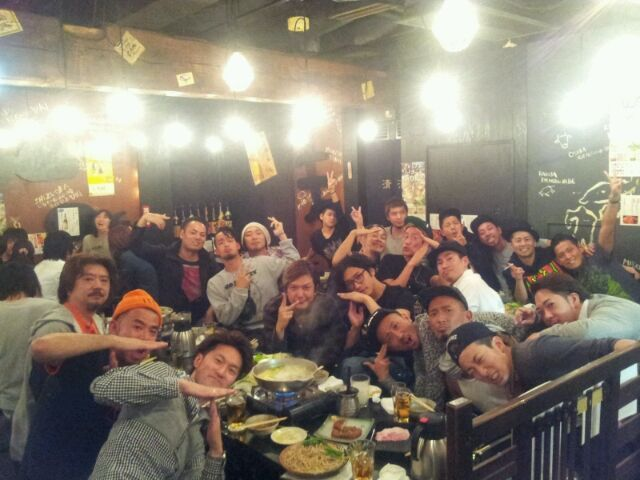 A lovely group, TVXQ no.2-飲み会
