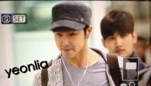 A lovely group, TVXQ no.2-0421帰国
