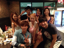 A lovely group, TVXQ no.2-0731party