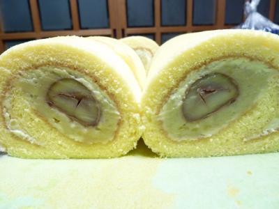 マロンロールケーキ2