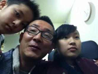 家族にて1