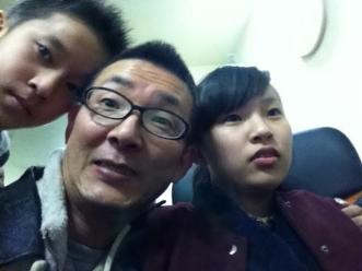 家族にて2