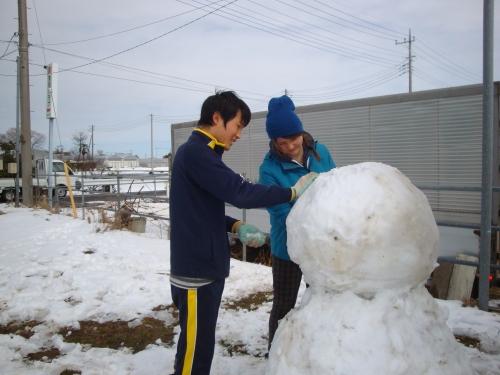 雪だる作ろうよ