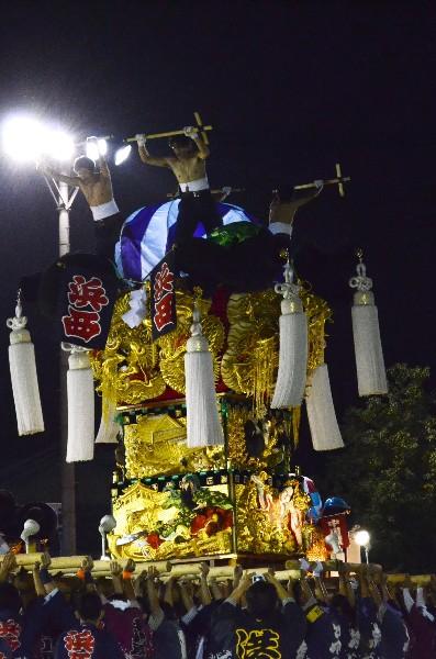 坂出市林田 林田ふるさと祭り 浜西太鼓台