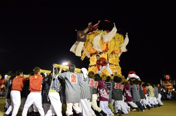 坂出市林田 林田ふるさと祭り 東梶太鼓台