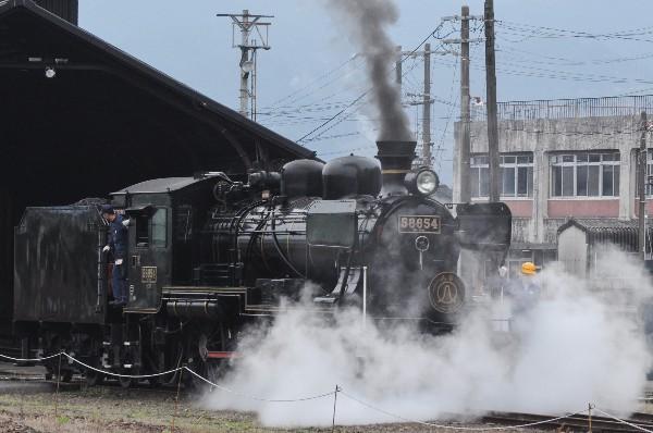 カメラ日記 人吉駅「人吉SL58654号」