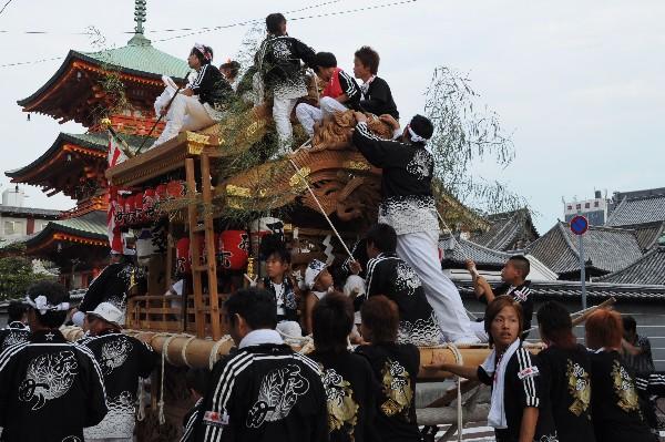 貴布禰神社夏季大祭 尼崎だんじり祭り 太鼓地車