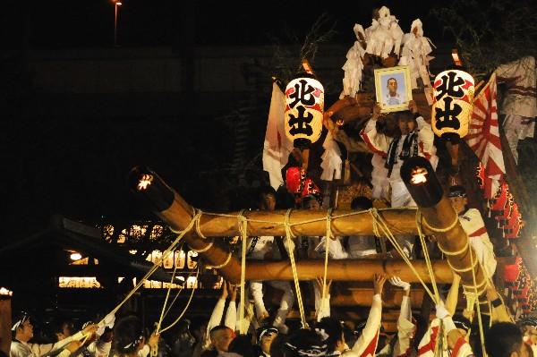 兵庫県尼崎市 貴布禰神社 宮入 北出地車保存会
