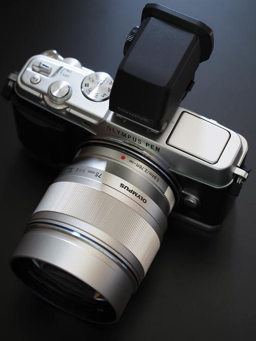 M.ZUIKO DIGITAL ED 75mm F1.8 + E-P5