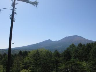 本日の浅間山