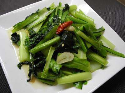 201304青菜炒め