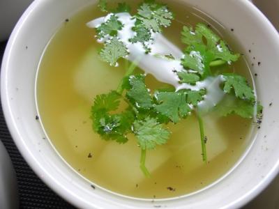 20130817ユウガオのタイ風スープ