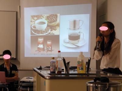 20130831ベトナムコーヒーの説明