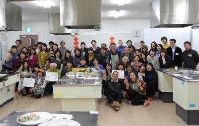 20140125ベトナム新年会(記念写真)