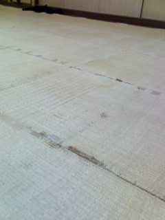 小平道場の琉球畳