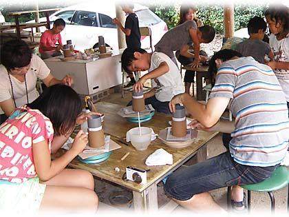 2013親子で陶芸体験のご案内1