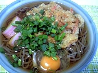 20121130玉子天蕎麦