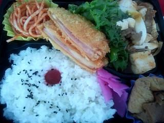 20140717麻婆豆腐弁当