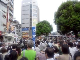 20130720街頭演説(その1)