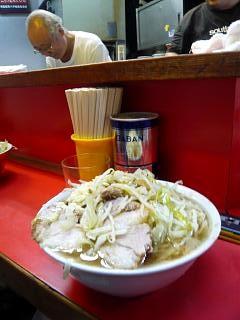 20120915ラーメン二郎三田本店(その3)